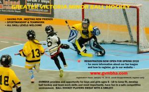 GreaterVictoriaMinorBallHockeyAssociation-Nov 30